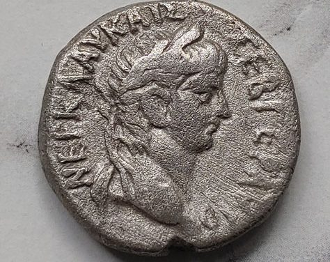 Nero 54-68 AD 7.3gm Roman Egypt, Alexandria Billon Tetradrachm