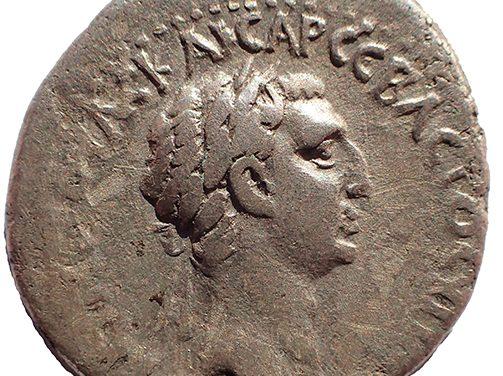 Nerva 96-98 AD Cappadocia, Caesarea 21mm 6.5gm Silver Didrachm