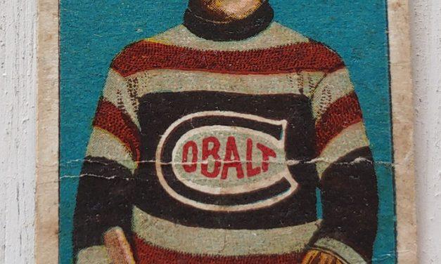 Herb Clark C-56 1910/11 No. 11 Rookie Hockey Card