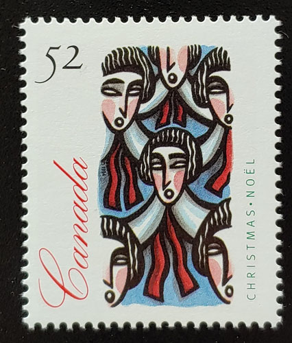 Canada #1534ii VFNH 1994 unissued 52c Christmas $200