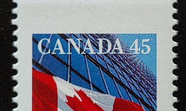 Dramatic Misperf: Canada #1361 Never Hinged 1995 45c