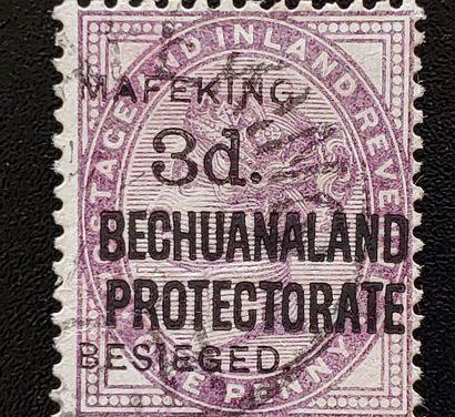 Cape of Good Hope #168 Fine Used 3d on 1d Mafeking Siege