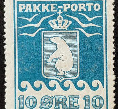 Greenland #Q4a F/VF Mint 1905/1910 perf 12.5 10o, thin