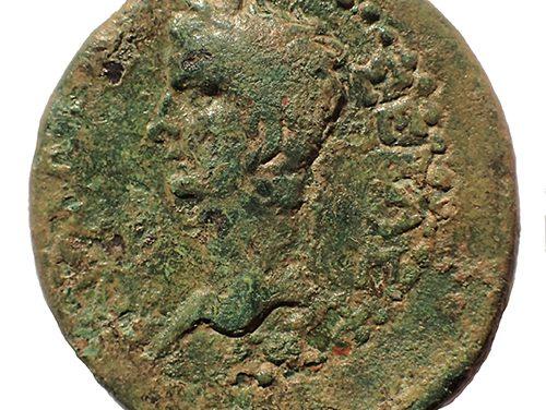Caligula and Rhoemetalkes III (King of Thrace) 38-46 AD 13.1gm AE26