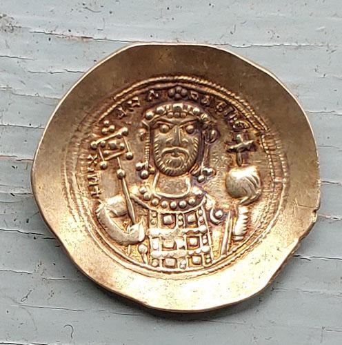 Michael VII 1071-1078 AD 4.46m Gold Histamenon Nomisma