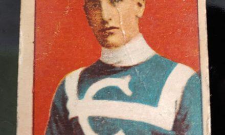 Art Bernier C-56 1910/11 #25 Rookie Hockey Card