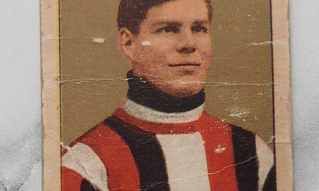 Fred Lake 1910/1911 C56 Ottawa #27 Rookie Hockey Card