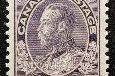 Canada #112 VFNH 1922/1925 5c Admiral Shade