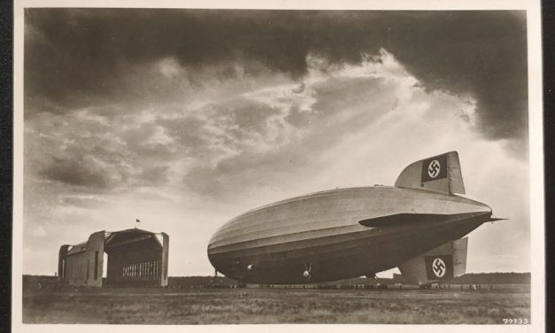 Germany 3 Dec 1938 6pf Graf Zeppelin RPPC