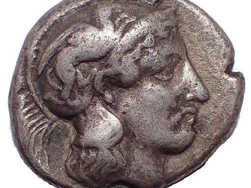 Lucania, Thurium 350-500 BC 18mm 7.65gm Silver Nomos