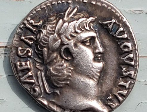 Nero 54-68 AD 4gm Silver Denarius