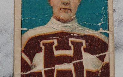 Horace Gaul 1910/11 C56 #31 Rookie Hockey Card, creases