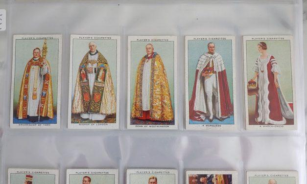1937 Coronation Players cigarette card Set (50)