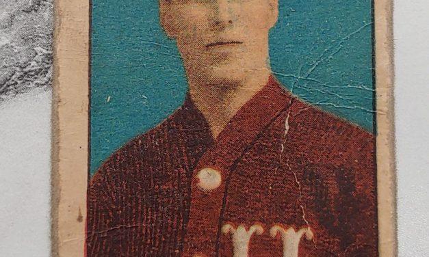 Paddy Moran 1910/1911 C56 #28 Rookie Hockey Card