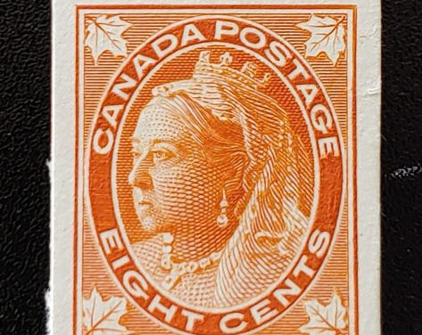 Canada #72P VF 1897 8c Plate Proof, only 171 issued
