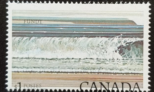 Canada #726 Never Hinged $1 Fundy Shifted Impression ex Penko