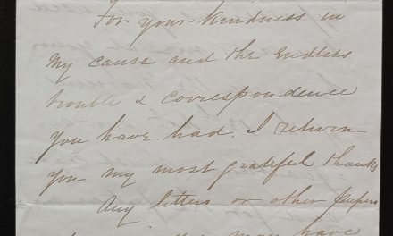 Maple Bay, B.C. 25 Jl 1867 T. Skinner Letter to H. Crease, ex Wellburn