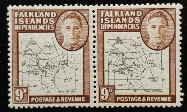 Falklands Dependencies #1L7 NH South Poke Variety in Pair
