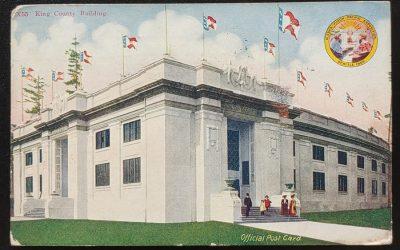 Alaska Yukon Pacific Expo 24 Se 1909 1c Official Post Card to B.C.