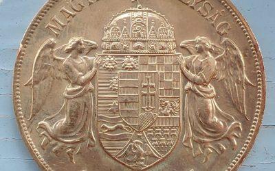 Hungary Unc 1908 KB Franz Joseph Gold 100 Corona .9734oz AGW