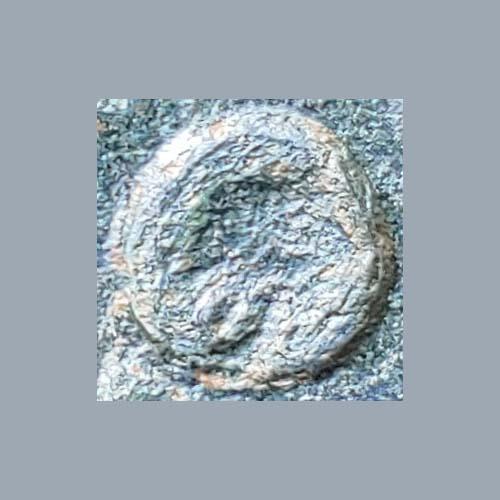 "Cleopatra VII 48/47 BC 24mm 13.2gm Antioch AE Tetrachalkon w/ Cleopatra VII countermark. ""The donations of Alexandria"""