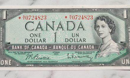 Canada #BC37bA Unc 1954 prefix *N/Y Replacement Dollar Bill