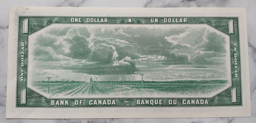Canada #BC37bA Unc 1954 prefix *N/Y Replacement Dollar Bill $400