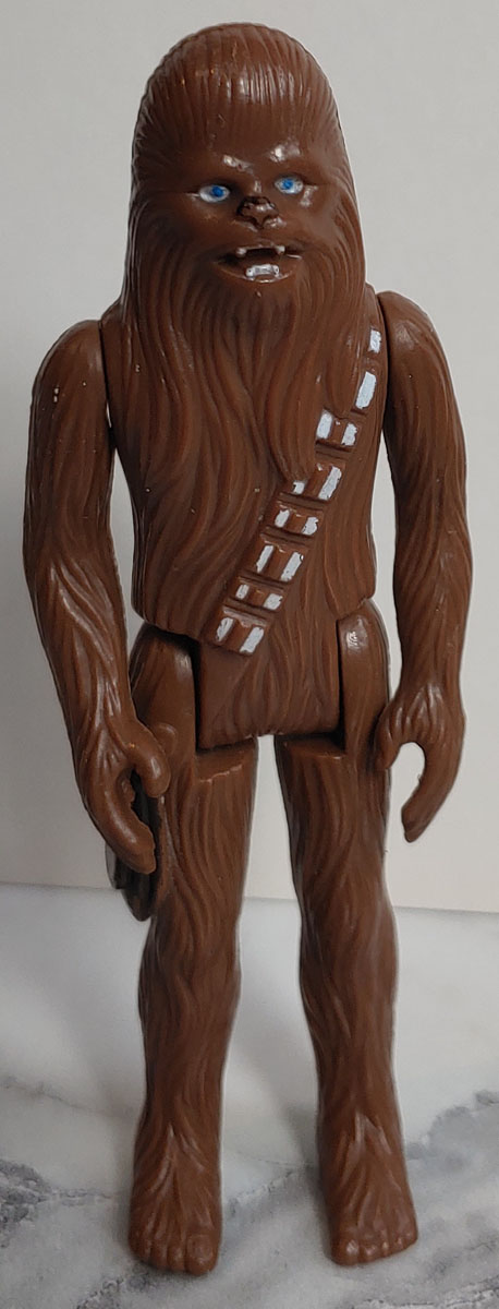 "Chewbacca 1977 4"" Star Wars figurine"