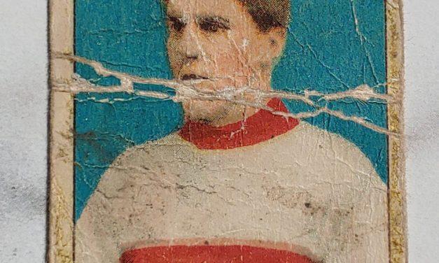 Jack Marshall 1910/11 C56 #33 Rookie Hockey Card creases