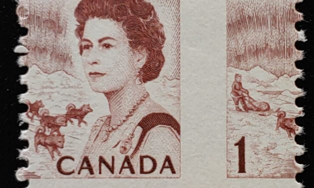 Canada #454 Never Hinged 1971 1c Centennial Misperf, ex Penko