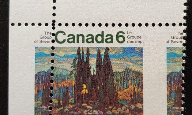 Canada #518 Never Hinged 1970 6c UL Dramatic Misperf, ex Penko