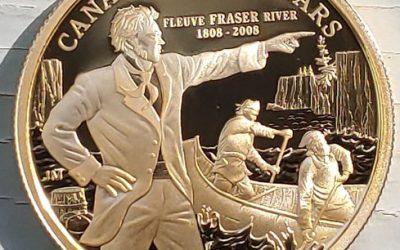 Canada Proof 2008 Fraser River $100 Gold #1539/3089 .225 oz AGW