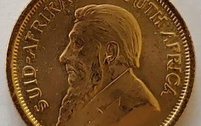 South Africa BU 1982 1/10oz Gold Krugerrand, mt mark