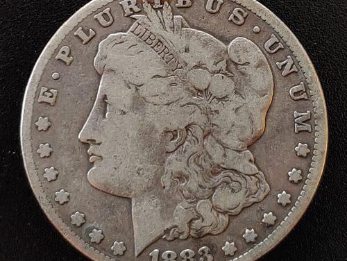 U.S.A. Fine 1883CC Carson City Morgan Silver Dollar
