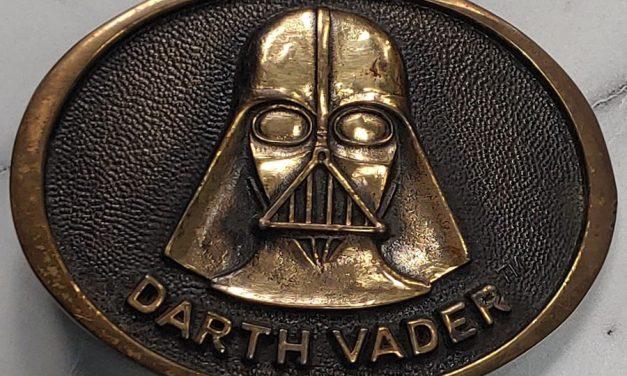 Darth Vader 1977 Brass Belt Buckle