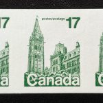 Canada #806a VFNH 1979 17c Parliament Imperforate Coil Strip
