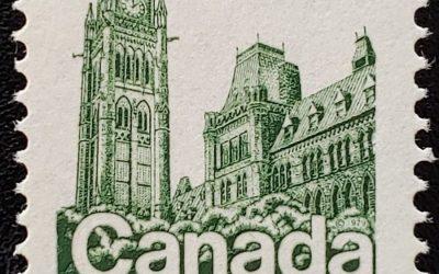 Canada #790 Never Hinged 1979 17c Parliament Misperf, ex Penko