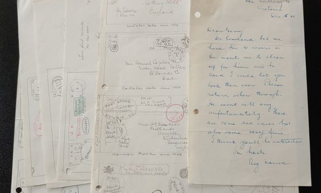 Wellburn's illustrated notes on Dr. Cousland B.C. Covers (7 pgs)