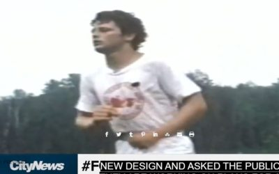 Terry Fox for the new $5 #foxforfiver