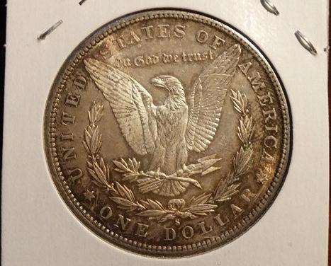 U.S.A. BU 1881S Morgan Silver Dollar