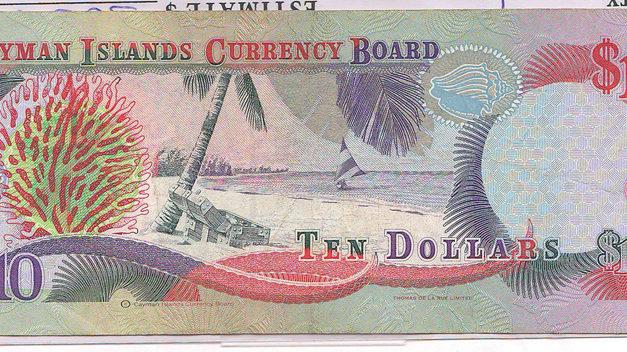 Cayman Islands #P18b 1996 prefix X/I Experimental Paper $10
