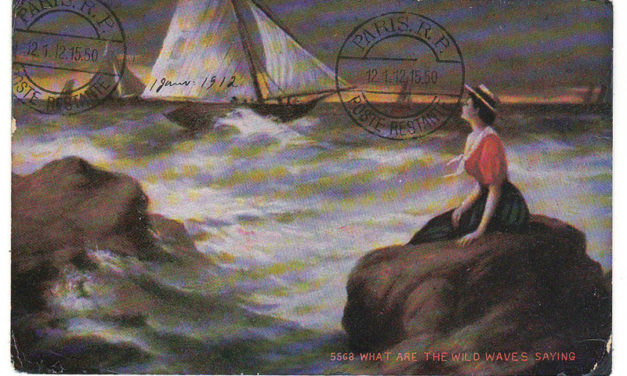 Canada #89 30 Dec 1912 1c Returned, Unclaimed Postcard to France