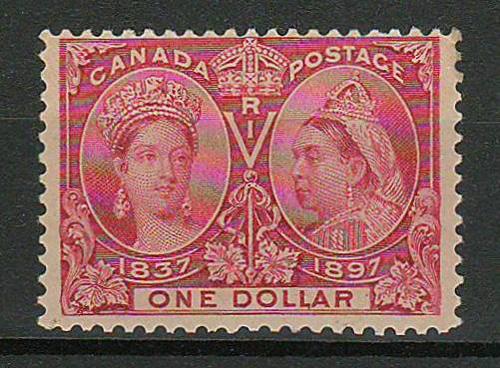 Canada #61 1897 $1 Jubilee
